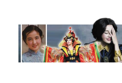 图 ,谢晋与刘晓庆儿子照片,刘晓庆的丈夫易纲简历,刘晓庆未整
