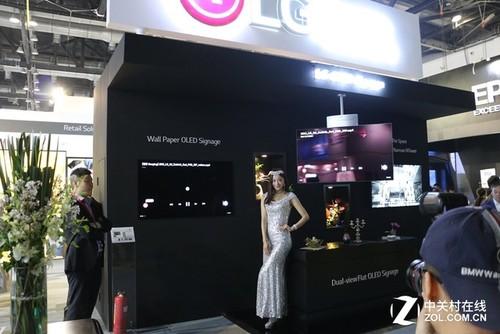 LG双面平板OLED商用显示器将北美上市