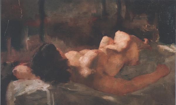 女人体 油画 29×49.5 1932年.