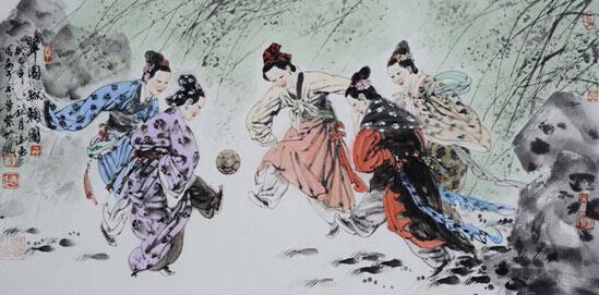古代男人的体育运动:骑马跳舞打球为取悦难度骑马与砍杀女子比图片