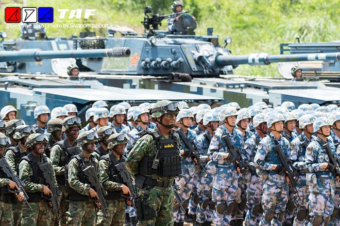 """2016""""中泰海军陆战队联合训练-泰国网络上的中泰海军陆战演练 组图图片"""