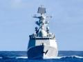 跟踪监视中国军舰的日本军舰