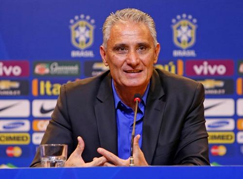 巴西新帅蒂特称:首要任务是晋级世界杯决赛圈