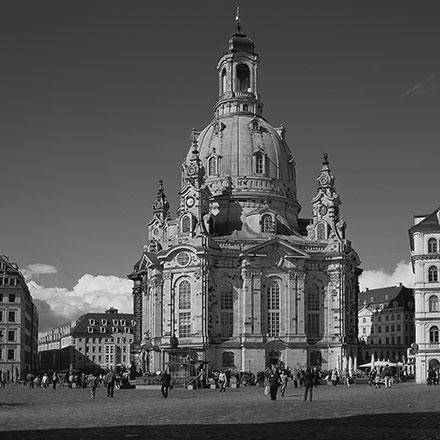圣母大教堂,德累斯顿(逄小威/摄)
