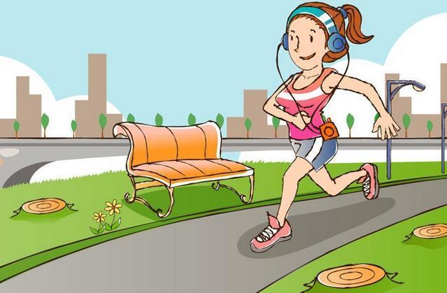 小孩跑步卡通画-8岁小学生体育课没穿运动鞋 30度高温被罚光脚跑