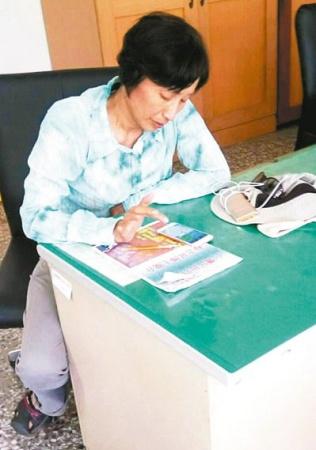 辱骂老荣民惹议的洪素珠,藏身台东太麻里乡金仑村。