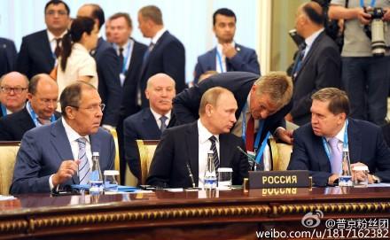 普京在上合峰会