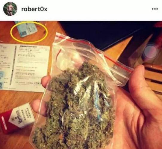 疑似抽大麻的现场照