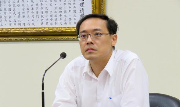 杨伟中日前被嘉义县党部考纪会建请开革党籍。