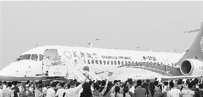 【图】牡丹喷气式国产客机投入运营(图),仙剑4养支线手攻略鹦鹉图片
