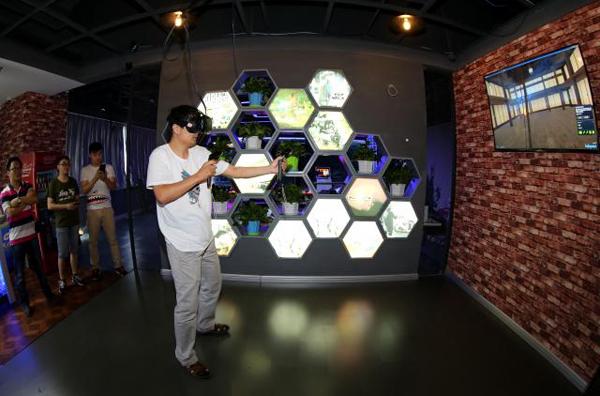 vr虚拟现实体验馆亮相秦皇岛图片
