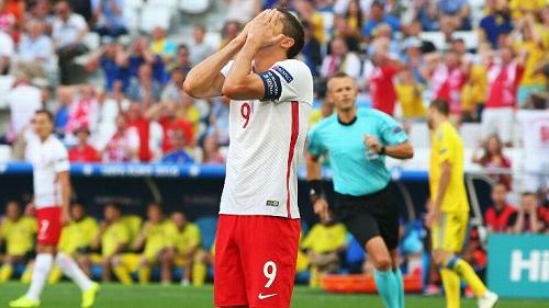 波兰锋霸本届欧洲杯至今没有取得进球