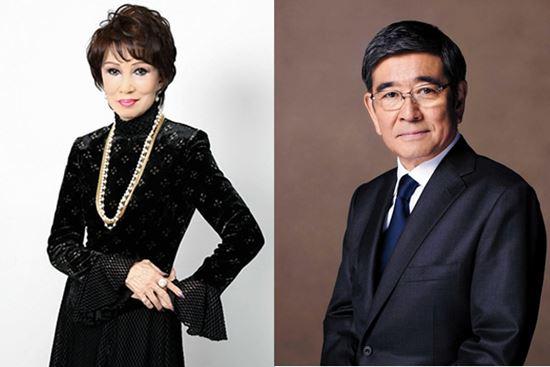 石坂浩二与前妻离婚后首次共演