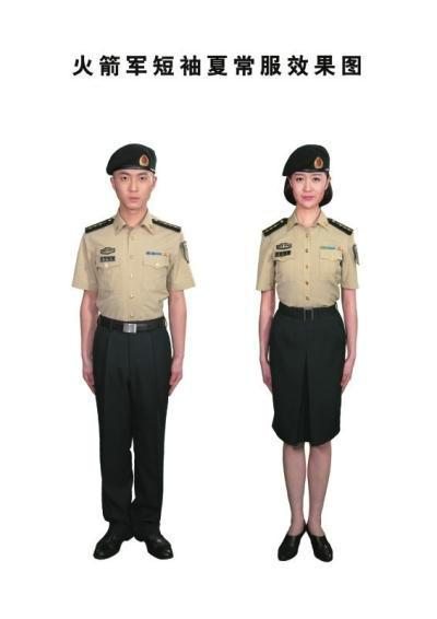 火箭军换发新式军服 衬衣为国际经典色 3