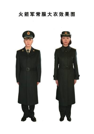 据了解,在07式军服体系中,陆、海、空三军礼(常)服的主色调分图片