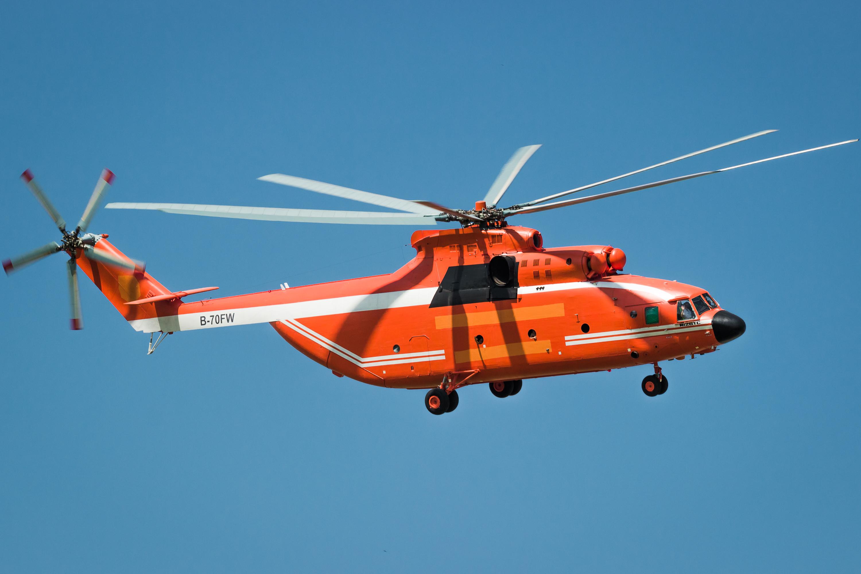 12009年和2010年青岛直升机航空有限公司分别获得两架Ми26ТС