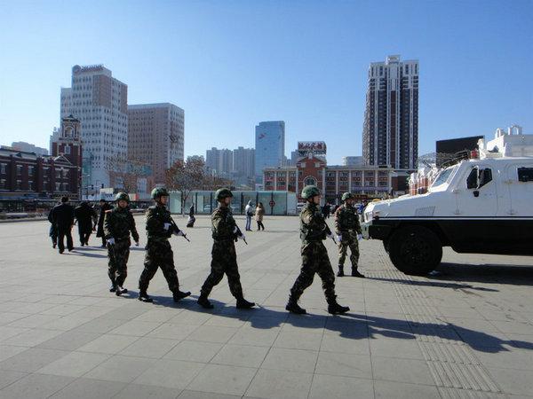警力,黄教安对东三省最大韩人街西塔地区的访问也因警卫问题几