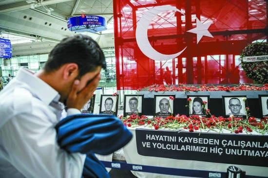 土耳其机场袭击者均持俄护照 主谋身份疑曝光(图)
