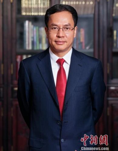 资料图:汉能控股董事局主席兼首席执行官李河君。