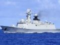 中国新锐战舰与世界顶级军舰同场竞技