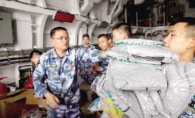 【图】第二大王的v大王送到郑州舰(图),郑州故乡一名视频图片