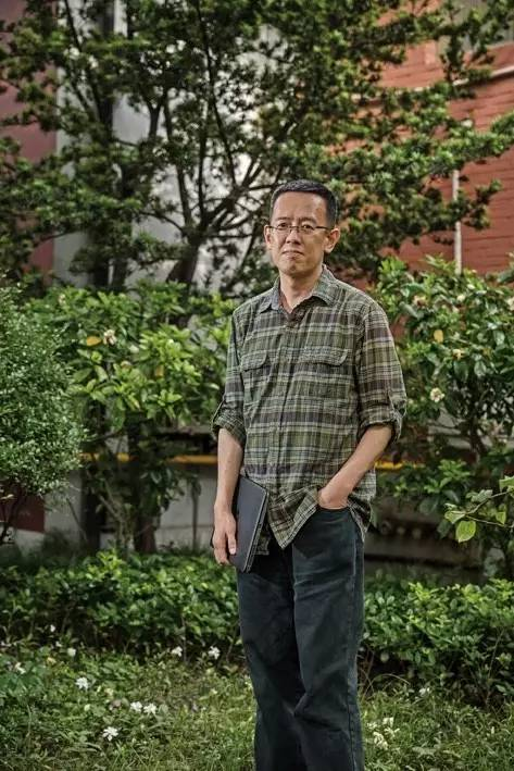 科幻作家韩松 图/沈煜