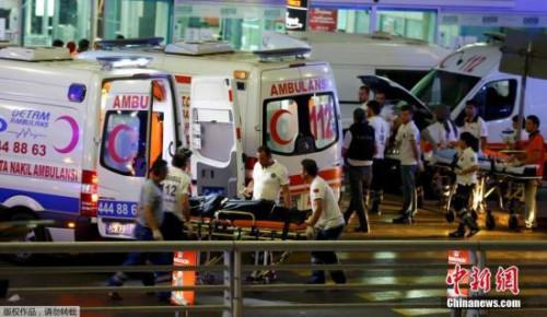 土耳其国际机场6月28日发生爆炸事件。