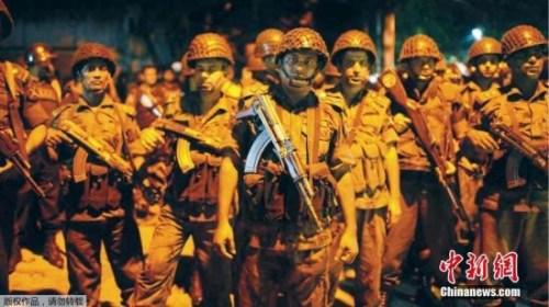 孟加拉国达卡7月1日发生人质劫持事件。