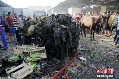 资料图:巴格达发生炸弹袭击。