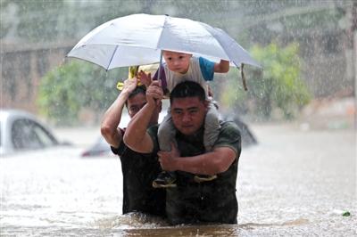 """台风""""姗姗来迟"""" 或减弱梅雨影响"""