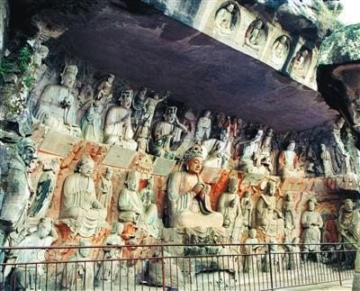 安岳毗卢洞第8号柳本尊十炼图窟。图/视觉国家