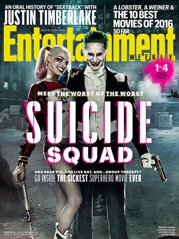 《X特遣队》登上了最新一期《娱乐周刊》的封面
