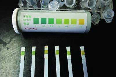 3号和6号样品酸价值超过国家限量标准
