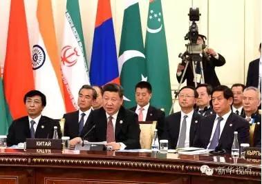 (2016年6月24日,国家主席习近平在乌兹别克斯坦塔什干出席上海合作组织成员国元首理事会第十六次会议并发表重要讲话。新华社记者饶爱民摄)