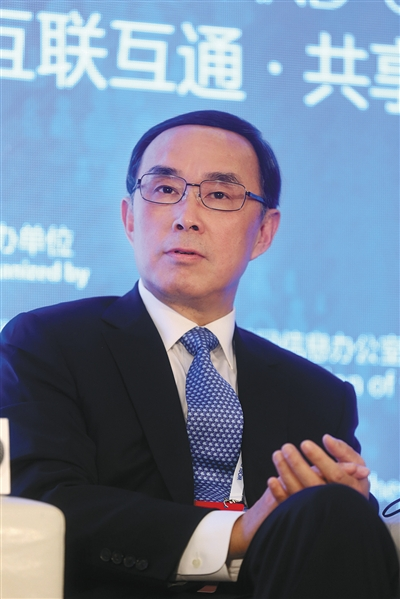 中国电信原董事长常小兵。新京报记者 李冬 摄