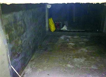 常熟路165号社区。 常熟路165号甲103室内守法营建的地下室。 张家琳 摄