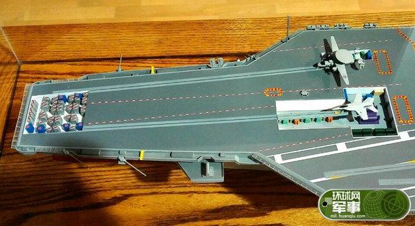 福特号航母内部结构曝光