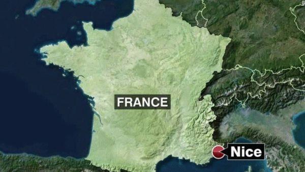 事发地点:法国南部城市尼斯