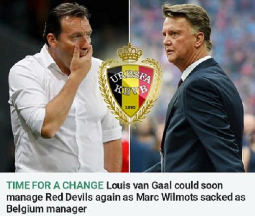 范加尔有望成为比利时主帅