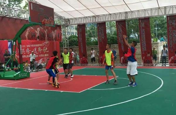 2016贵州民间3对3篮球赛落幕 600余名选手参赛