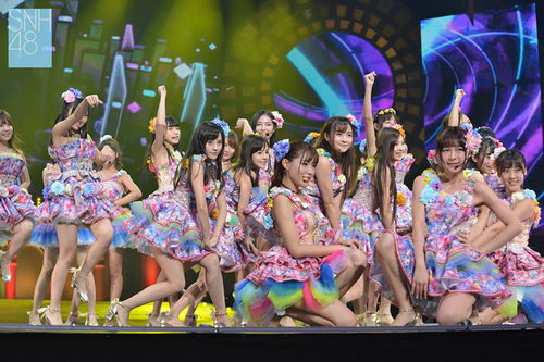 SNH48再携手广东卫视 独播总决选演唱会