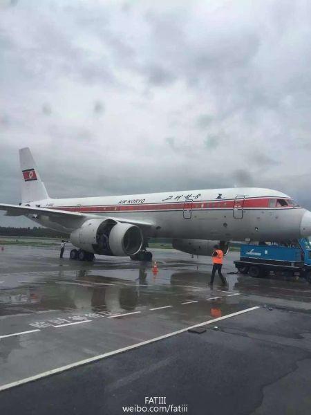 备降在沈阳机场的JS151(由另一名匿名网友提供)