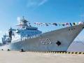 中国海军新型补给舰入列引关注