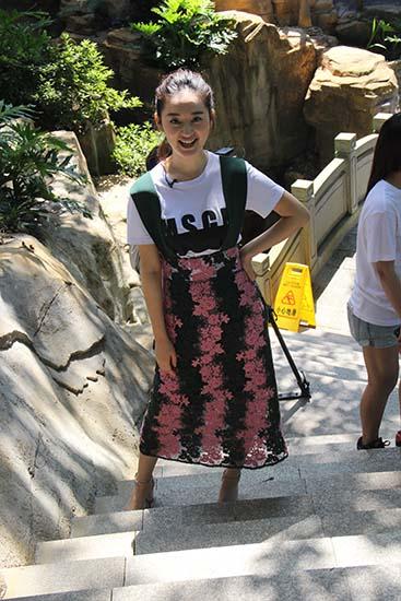 郭晓婷参加《我是大美人》录制