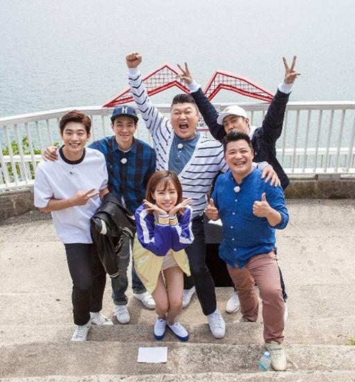 JTBC综艺节目《天下壮士》成员合影
