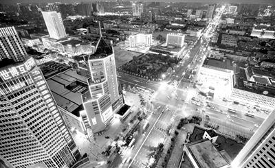 唐山城区夜景
