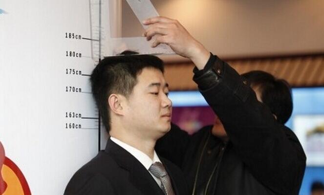 [观点]:中国男性平均身高排世界第93名 比日本高1cm