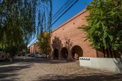 红砖美术馆展馆外墙