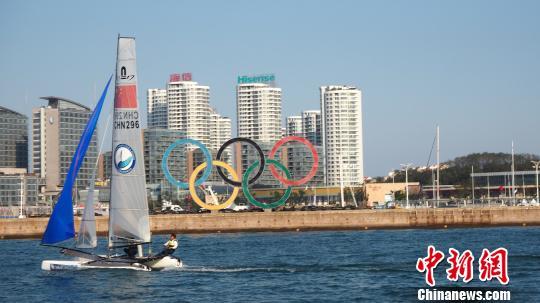 """7月30日,首届""""亚帆联杯""""帆船赛组委会宣布,上海站比赛将于8月17日至21日在淀山湖上海国际帆船港、美帆俱乐部拉开帷幕。 主办方 摄"""