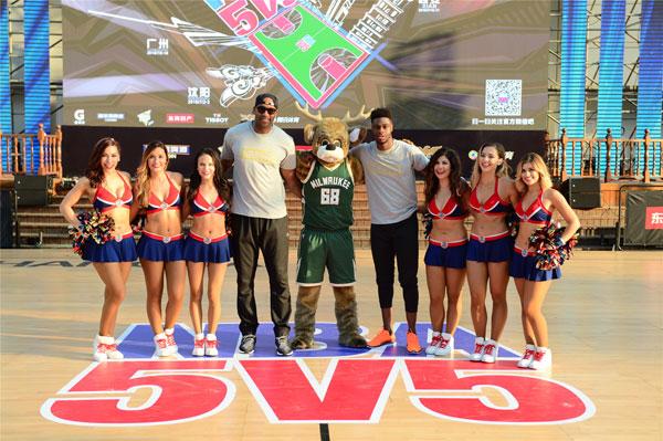 NBA5V5精英球賽總決賽滬上打響 麥迪穆迪埃助陣